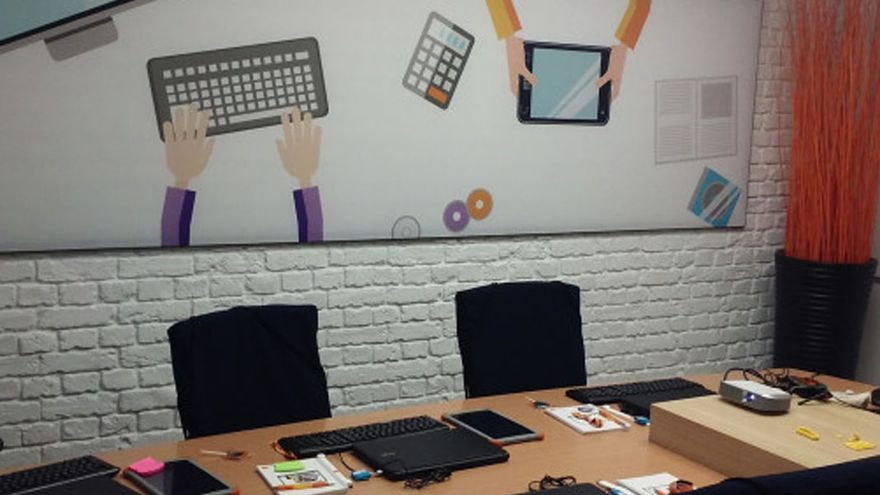 Imagen de un aula digital del programa 'Edyta'   FUNDACIÓN ORANGE