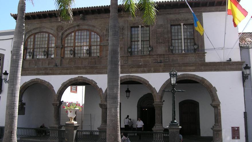 En la imagen, fachada del Ayuntamiento de la capital.