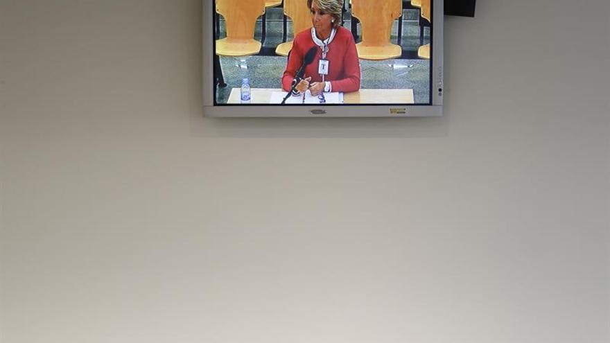 Aguirre dice que no conoce a Correa ni sabía que sus actos los organizaba él