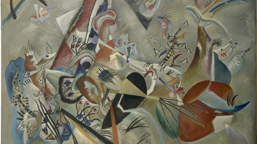 Im Grau  | Kandinsky