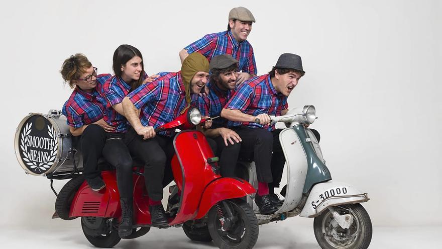 El grupo de música Smooth Beans.