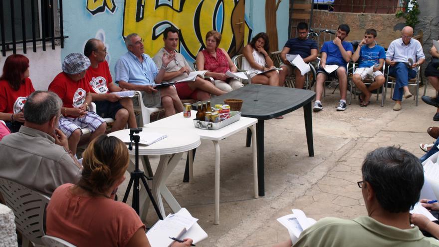Reunión de Guanyem Torrent.