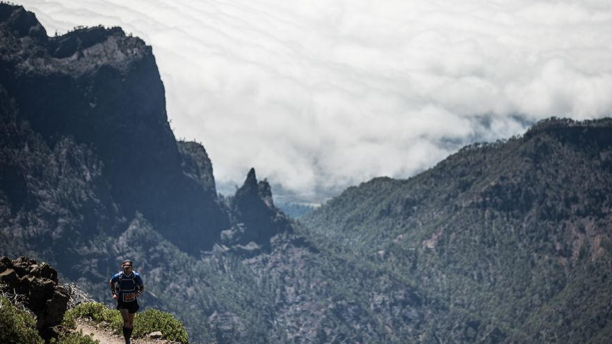 Imagen de archivo de la Transvulcania.
