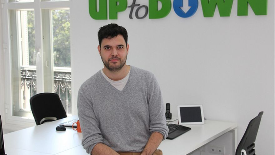 Luis Hernández, fundador de Uptodown