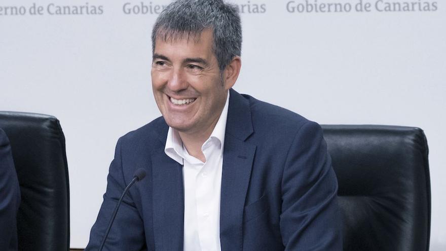 Fernando Clavijo. (Flickr Gobcan)