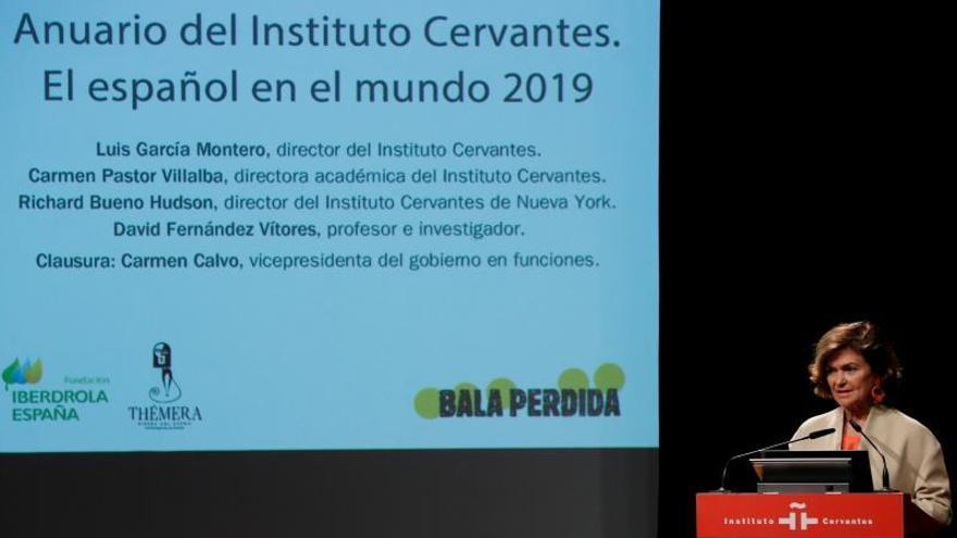 """Calvo advierte contra la utilización """"banal"""" y el deterioro de las palabras"""