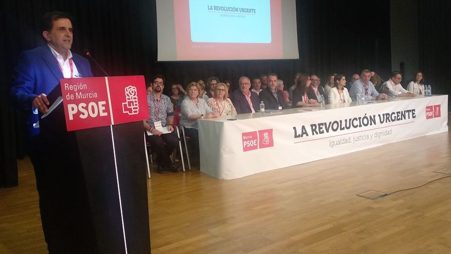 El PSOE de la ciudad de Murcia elige su Ejecutiva con José Antonio Serrano como líder