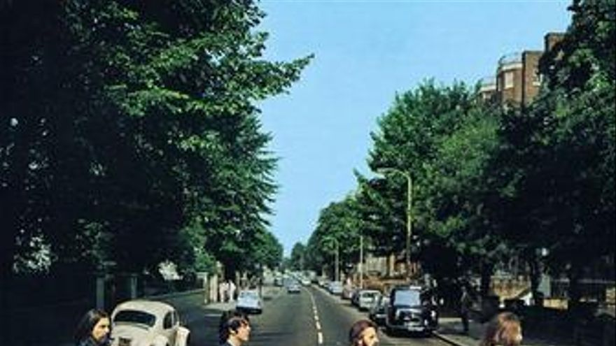 Portada del disco de The Beatles 'Abbey Road'