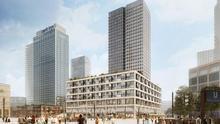 Visión artística del proyecto de rascacielos de la empresa francesa Covivio. © Sauerbruch Hutton / Luxigon