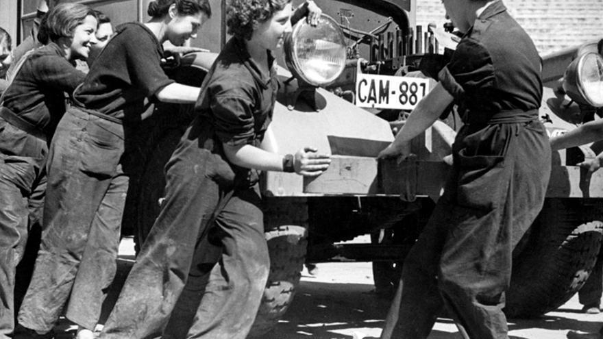 Mujeres Libres mecánicas