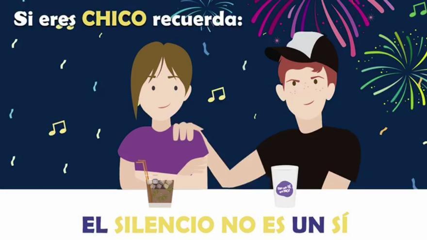 Imagen de la campaña 'Si no es un Sí, ¡es No!'