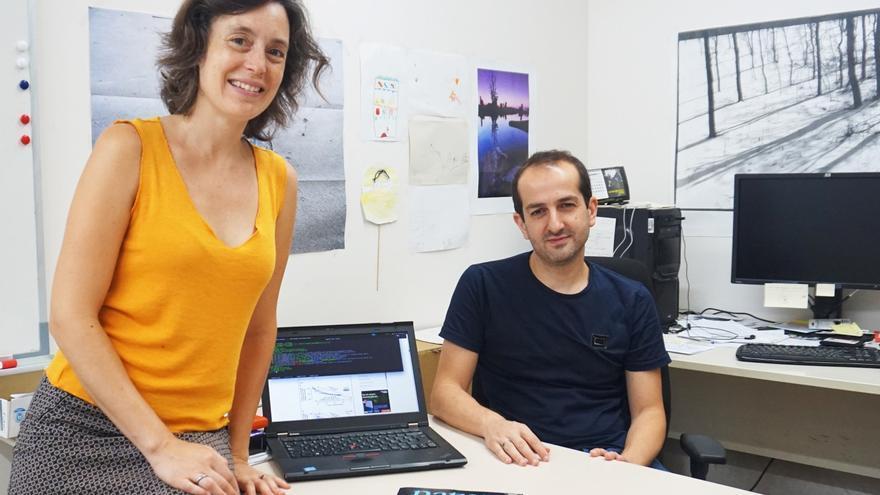 Marta Sala y Roger Guimerà forman el equipo investigador que participó en este proyecto.
