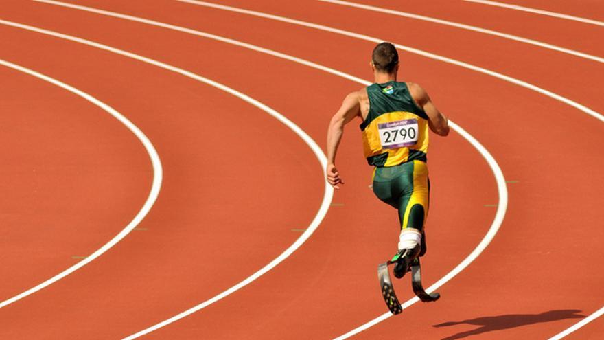 Oscar Pistorius -- by Will Clayton@Flickr