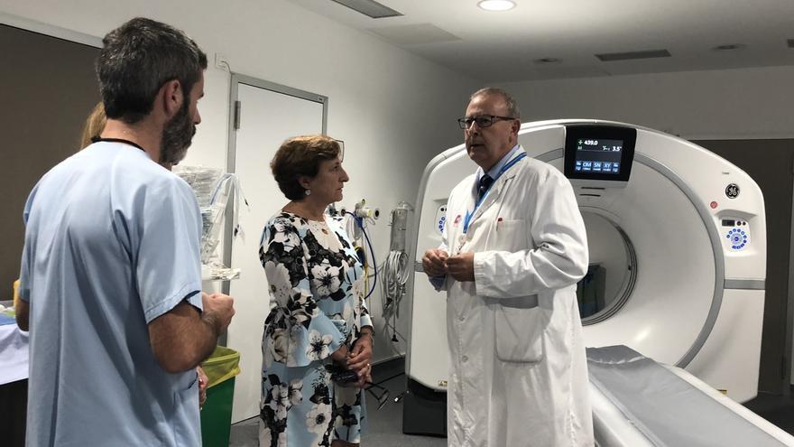 Valdecilla renueva su Servicio de Radiología con un nuevo TAC, una resonancia y dos ecógrafos