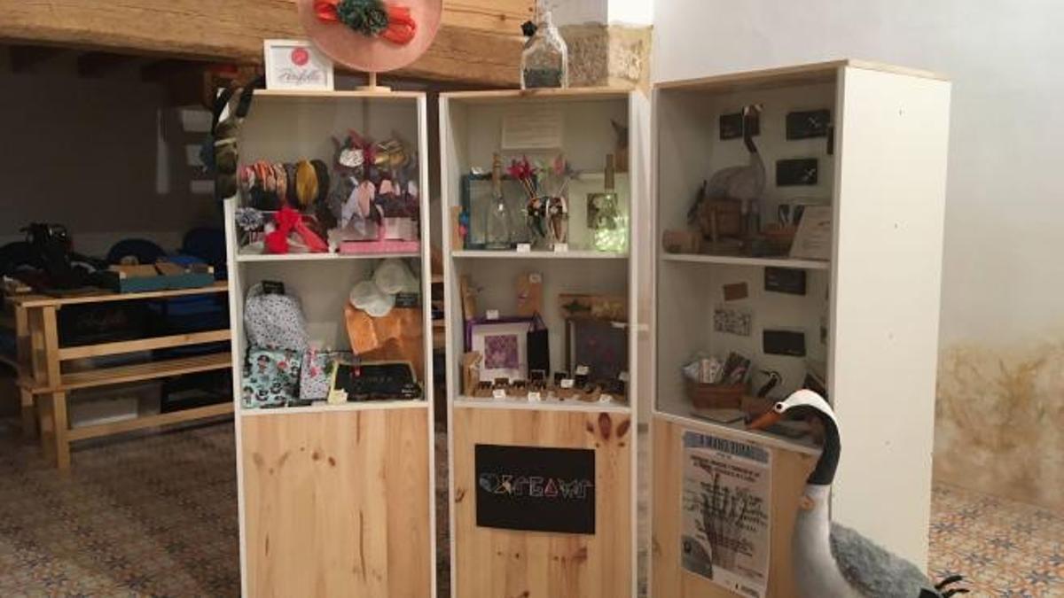 Luco de Jiloca ha sido la primera localidad donde los artesanos del proyecto 'A Mano Rural' han llevado a cabo su proyecto.