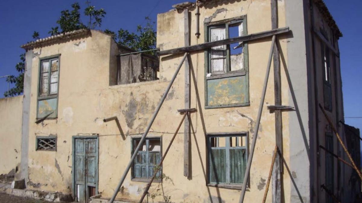 Fachada de la Casa Amarilla