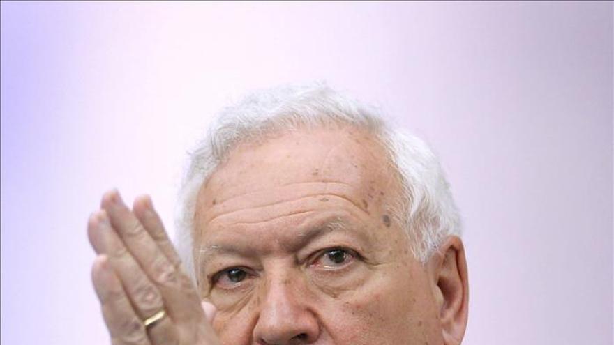 """García-Margallo afirma que """"hay que rediseñar el modelo"""" de financiación autonómica"""