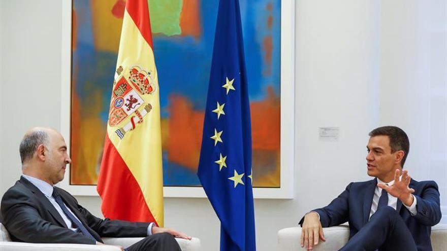 Moscovici confía en que España será uno de los países que más crezca de la UE