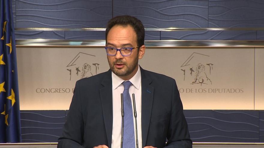 El PSOE lleva al primer Pleno del Congreso un texto para garantizar la subida de pensiones y el sueldo de funcionarios