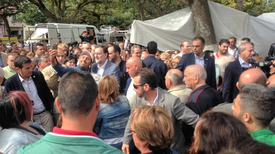 """Rajoy, convencido de que Feijóo ganará las elecciones: """"El buen sentido de la gente nos hace ser optimistas"""""""