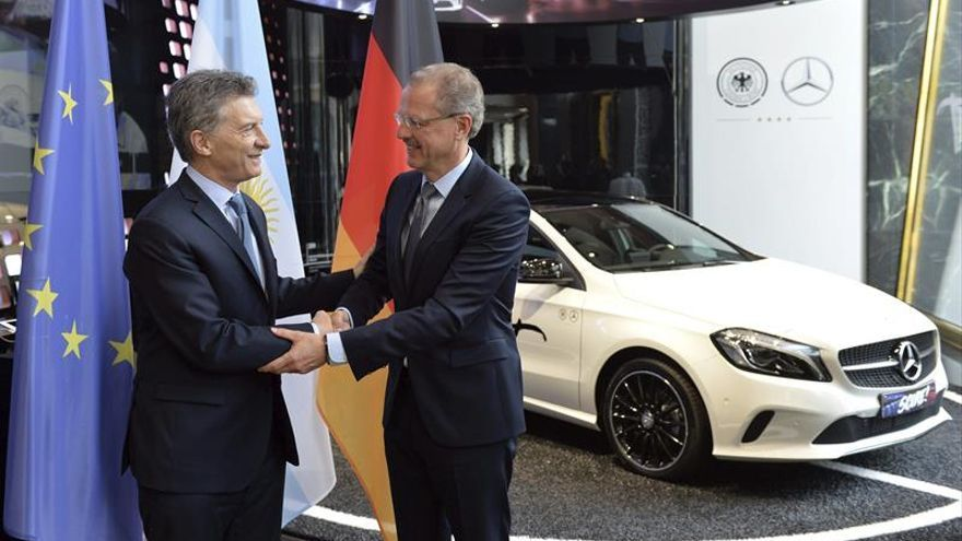 """Macri cierra """"contento"""" en Berlín una gira diseñada para resituar a Argentina"""