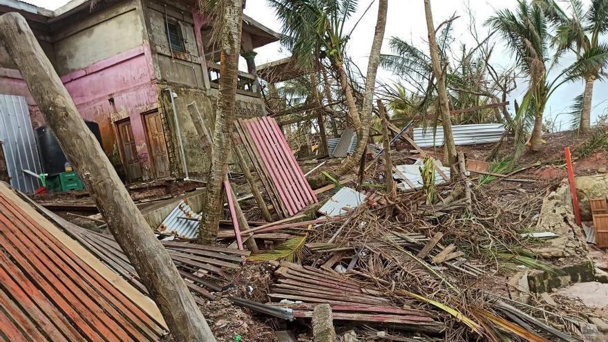 """""""El ánimo está por el suelo"""", dice sobreviviente de huracanes en Nicaragua"""