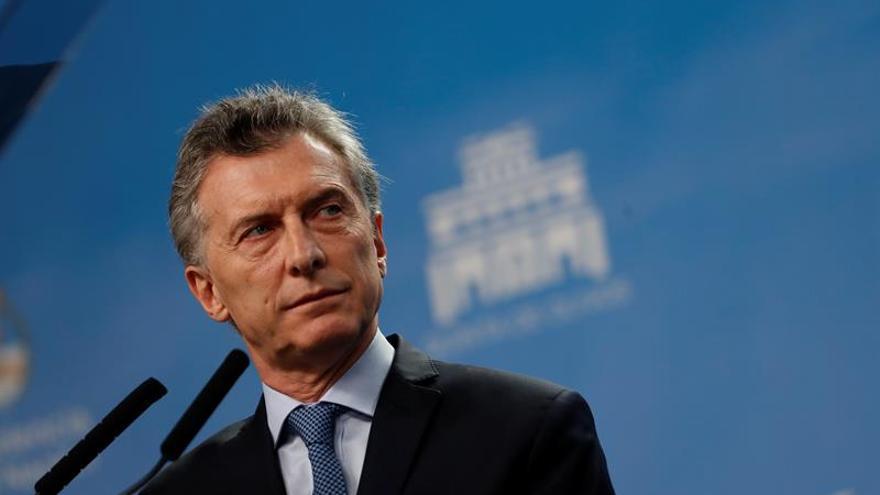 Macri dice que el Gobierno colabora con la Justicia en el caso de un joven desaparecido