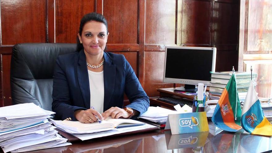 Susa Armas, alcaldesa de Los Llanos de Aridane