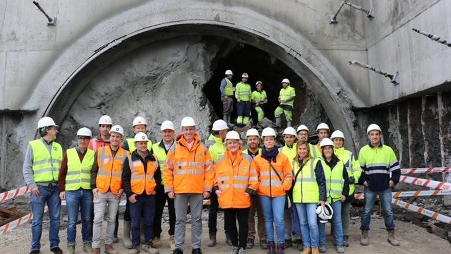 La obra de la carretera Deba-Mutriku entra en su fase final con la perforación del túnel de Alkolea
