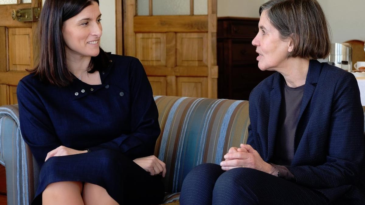 La alcaldesa de Santander se reúne con la rectora de la UIMP.- Archivo