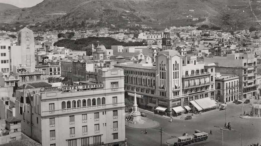Santa Cruz de Tenerife, 1925. (Fedac)