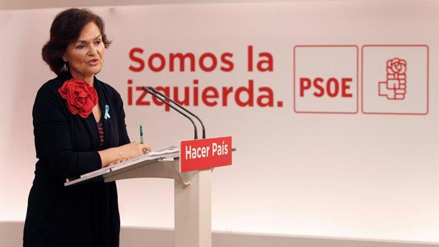 El PSOE dice que los PGE son incompatibles con el Pacto contra la violencia doméstica