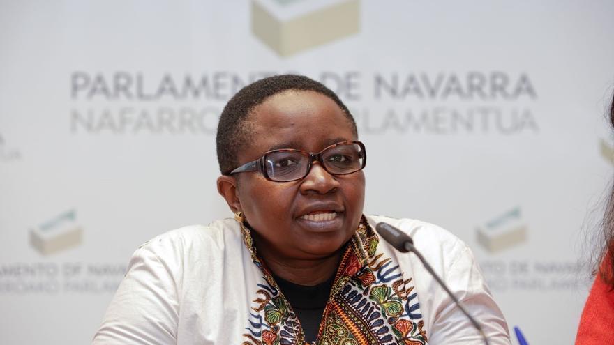 """La activista del Congo Justine Masika insta a la sociedad europea a """"combatir la violación como crimen de guerra"""""""
