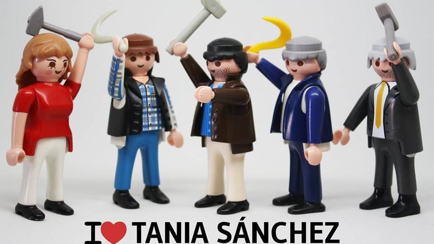 I love Tania Sánchez