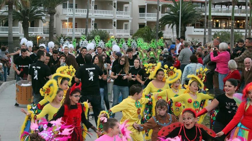 Imagen del archivo del carnaval de 2014.