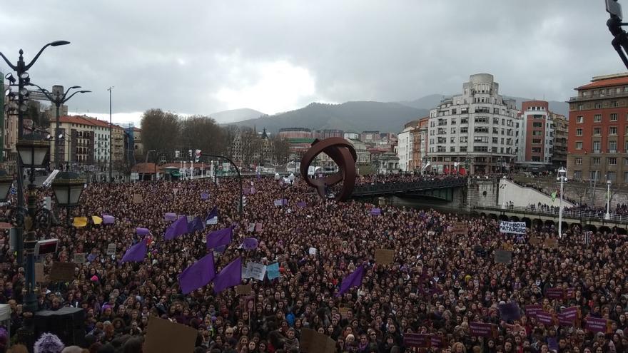 La pandemia no frena al feminismo vasco y saldrá a la calle el 8M pese a la petición del Gobierno de no realizar manifestaciones masivas
