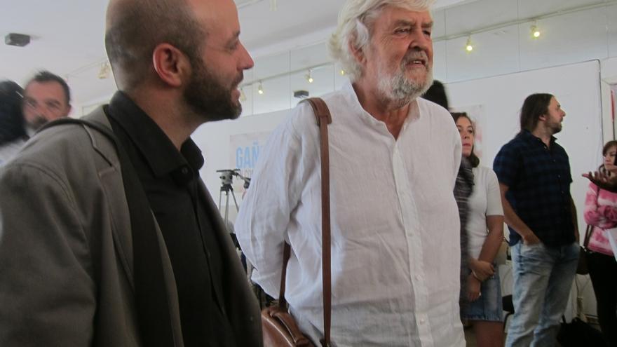 Beiras arropará a Villares en el segundo día de campaña, que lleva a En Marea a la provincia de Ourense