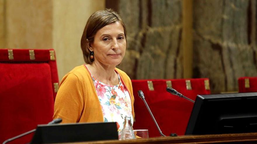 """Forcadell: """"Estoy segura de que Ada Colau estará al lado de la democracia"""""""