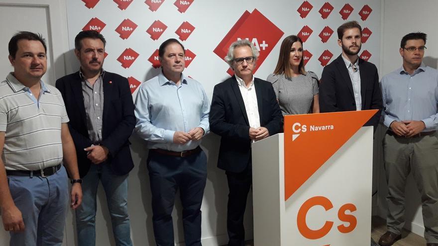 """Cs acusa a Geroa Bai de """"manipular"""" el Día de Navarra para """"tapar los ataques del nacionalismo a los navarros"""""""