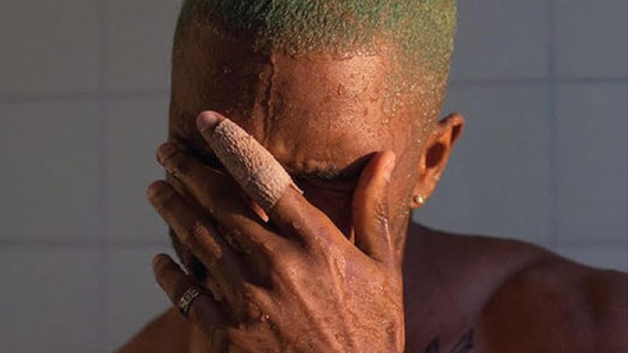 Frank Ocean en la portada de su último disco, 'Blond'