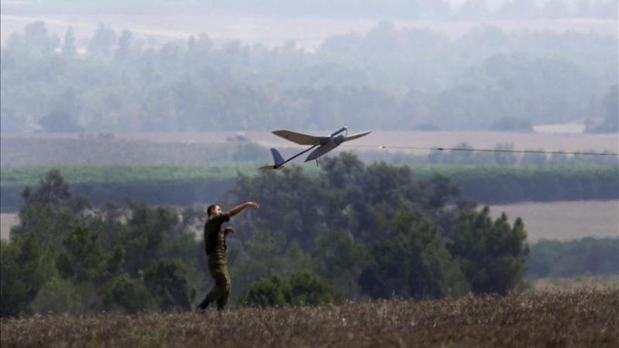 Israel confirma la pérdida de un dron que había penetrado en el Líbano