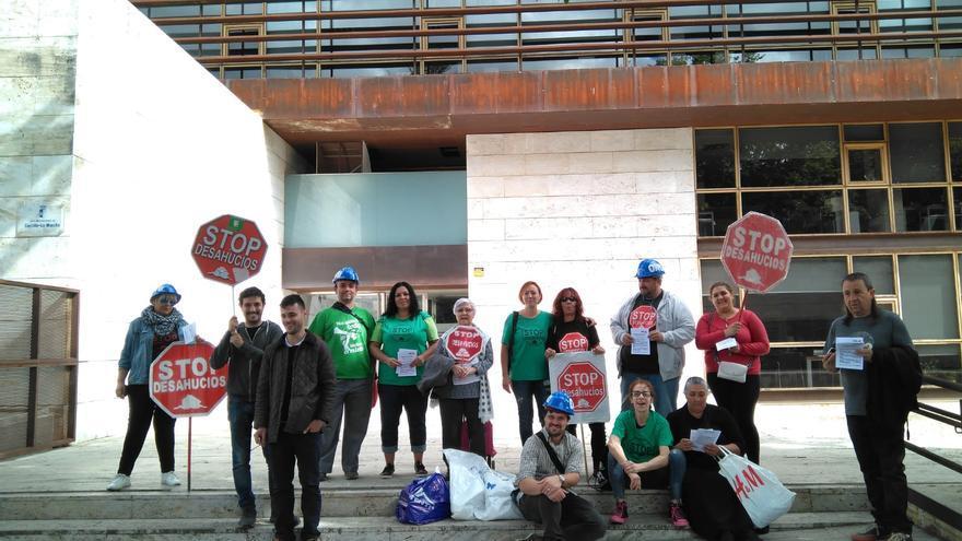 FOTO: Plataforma de Afectados por la Hipoteca en Guadalajara (PAH)