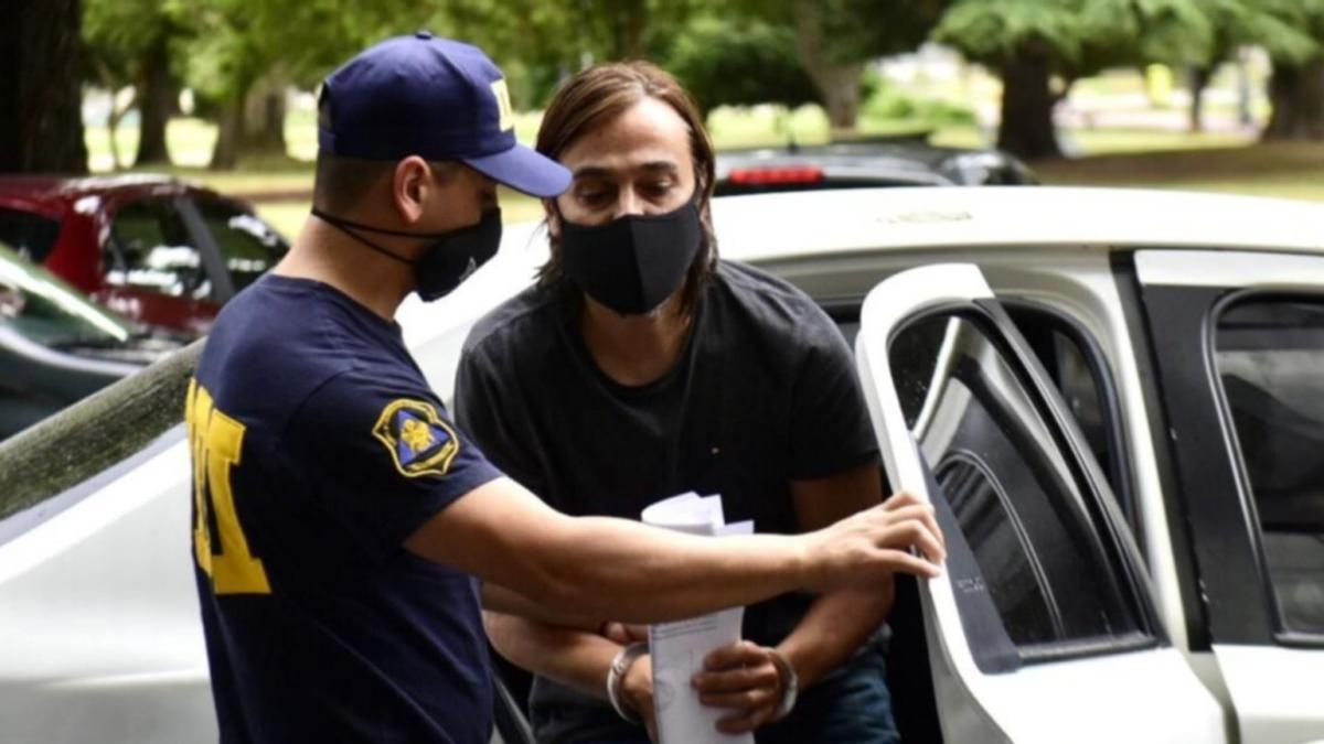 Juan Ignacio Buzali, marido de Carolina Píparo, fue detenido el 8 de enero de 2021.