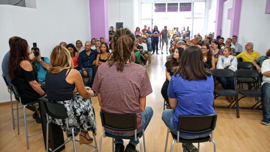 Inauguración de la sede de Podemos Canarias