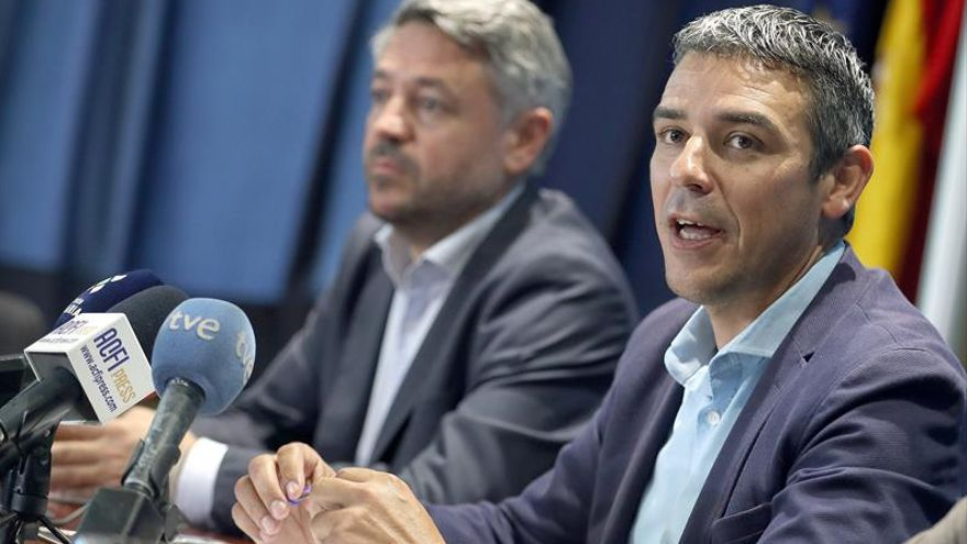El consejero en funciones de Agricultura, Ganadería, Pesca y Aguas del Gobierno de Canarias, Narvay Quintero.