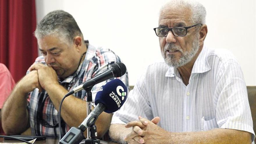 El delegado del Frente Polisario en Canarias, Hamdi Mansor. (EFE/Cristóbal García)