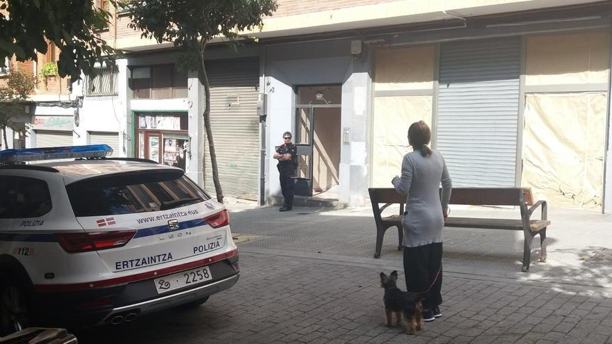Aparece el cadáver de una mujer con signos de violencia en un domicilio de la calle Ollerías, en Bilbao