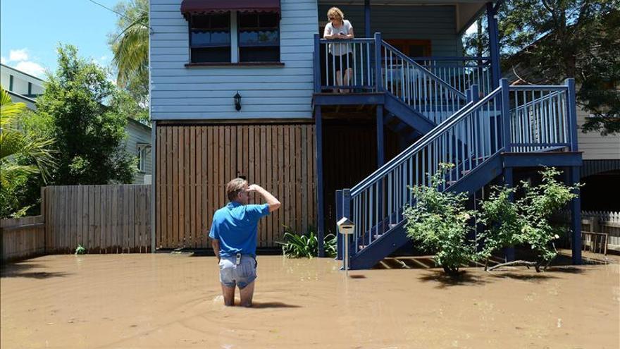 Aumenta a cuatro la cifra de muertos por inundaciones en noreste de Australia