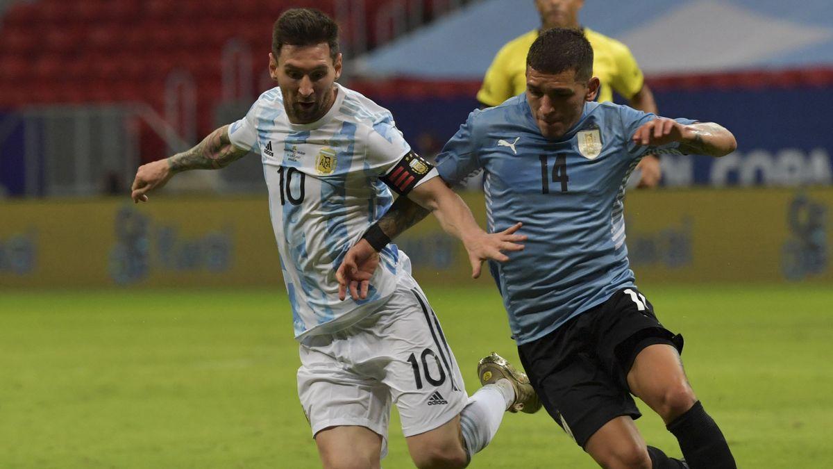 Argentina juega desde las 20.30 el clásico rioplatense ante Uruguay