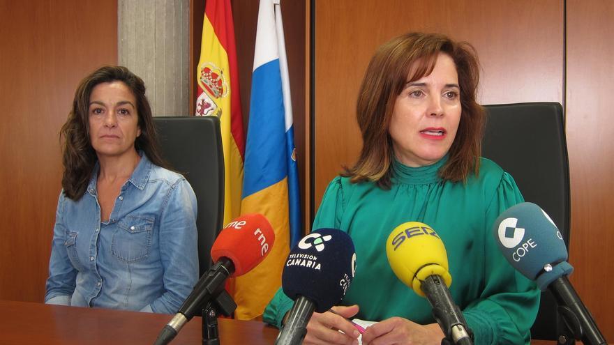 La consejera de Sanidad del Gobierno de Canarias, Teresa Cruz Oval.